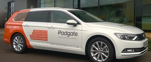 Padgate Services car